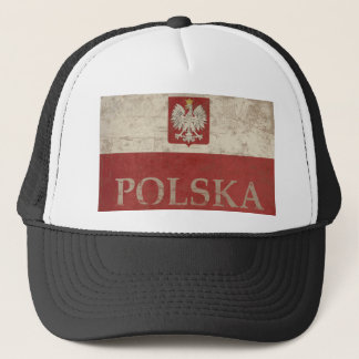 Vintage Polska Trucker Hat