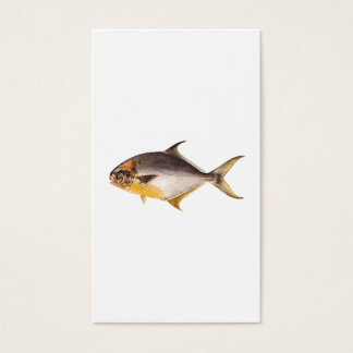 Vintage Pompano Fish - Game Fishes Template Blank Business Card