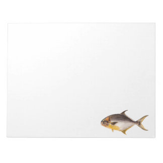 Vintage Pompano Fish - Game Fishes Template Blank Notepad