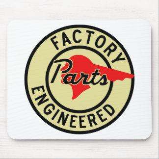 Vintage Pontiac Factory parts sign Mouse Pad