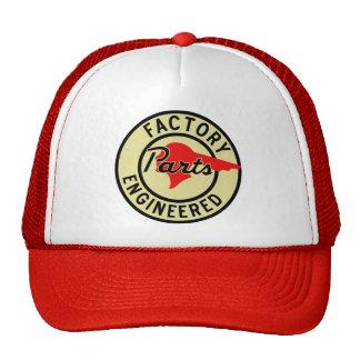 Vintage Pontiac Factory parts sign Trucker Hats