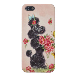 Vintage Poodle iPhone 5/5S Cover