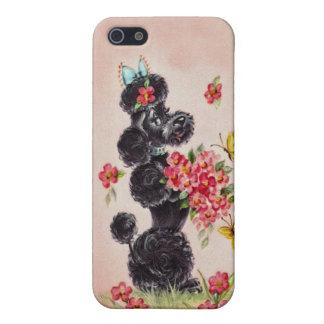 Vintage Poodle iPhone 5 Case