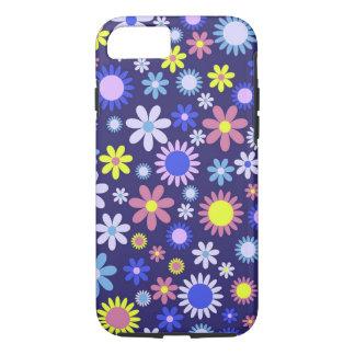 Vintage Pop Art Style Floral Pattern iPhone 8/7 Case