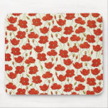 Vintage Poppies Mousepads