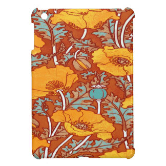 Vintage Poppy Cover For The iPad Mini