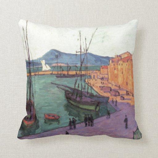 Vintage Port de Saint France Pillows