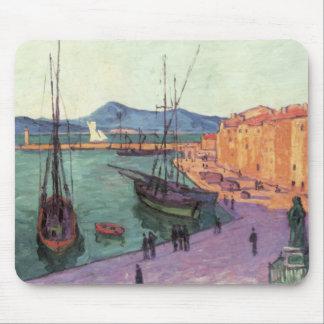 Vintage Port de Saint France Mousepad