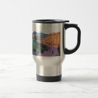 Vintage Port de Saint France 15 Oz Stainless Steel Travel Mug
