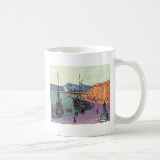 Vintage Port de Saint France Classic White Coffee Mug