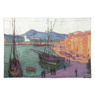 Vintage Port de Saint France Placemat