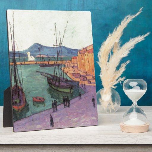 Vintage Port de Saint France Display Plaques