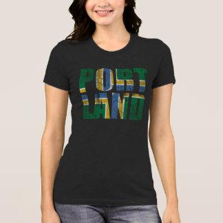Vintage Portland Flag Oregon T-Shirt