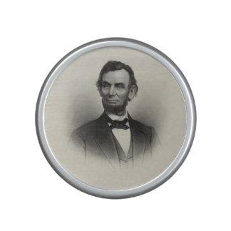 Vintage Portrait of Abraham Lincoln Bluetooth Speaker