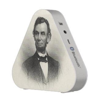 Vintage Portrait of Abraham Lincoln Speaker