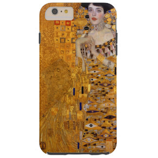 Vintage Portrait of Adele Gustav Klimt GalleryHD Tough iPhone 6 Plus Case