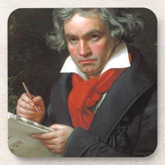 Vintage portrait of composer, Ludwig von Beethoven Coaster