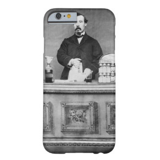 Vintage portrait of man barely there iPhone 6 case