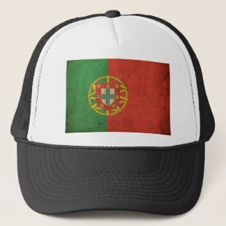 Vintage Portugal Flag Trucker Hat