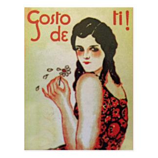 Vintage Portugal III Postcard