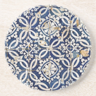 Vintage Portuguese Azulejo Coaster