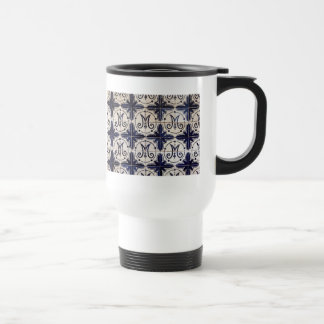 Vintage portuguese azulejo mugs