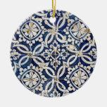 Vintage Portuguese Azulejo Ornaments