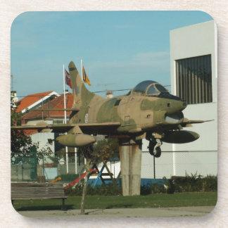 Vintage Portuguese Fighter Jet Coaster