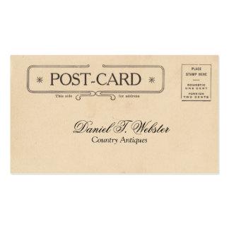 Vintage Post Card Business Cards