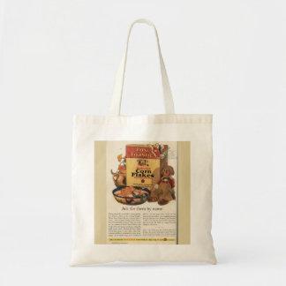 Vintage Post Toasties Ad Canvas Bag