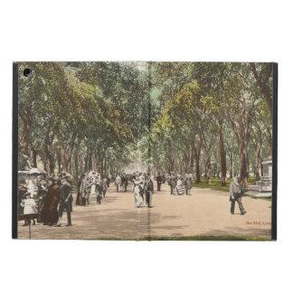 Vintage Postcard Central Park New York City iPad Air Cover