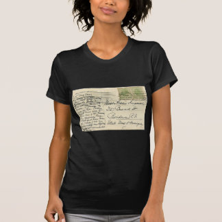 Vintage postcard mailed from Romania to USA T-Shirt