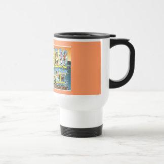 Vintage Postcard Ocean City NJ Travel Mug