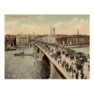 Vintage Postcard of London Bridge