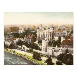 Vintage Postcard of the Tower of London