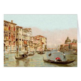 Vintage Postcard Palazzo Franchetti Venezia Venice