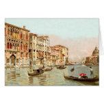 Vintage Postcard Palazzo Franchetti Venezia Venice Note Card