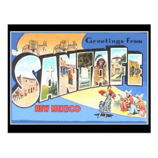 Vintage Postcard Santa Fe