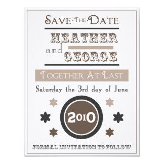 Vintage Poster 11 Cm X 14 Cm Invitation Card