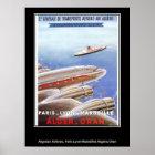 Vintage poster Algeria Airlines