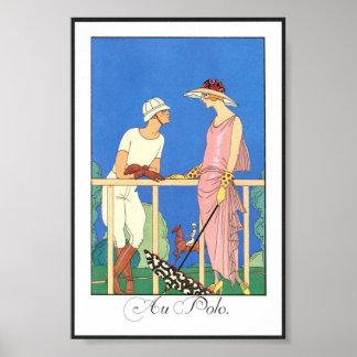 Vintage Poster - Au Polo