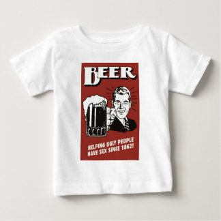 Vintage poster: beer since 1862 baby T-Shirt