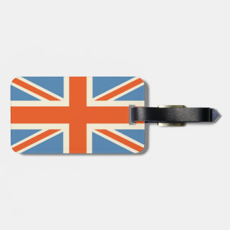 Vintage Poster Classic Union Jack British(UK) Flag Bag Tag