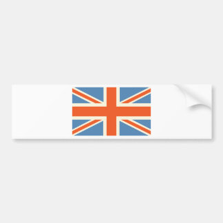 Vintage Poster Classic Union Jack British(UK) Flag Bumper Sticker