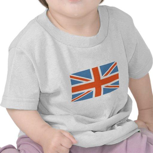 Vintage Poster Classic Union Jack British(UK) Flag Shirt