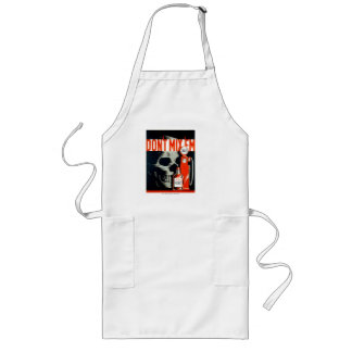 Vintage poster Don t Mix em gas and whiskey Aprons