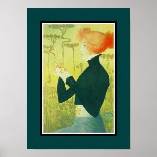 Vintage Poster Famous Artists Sarah Bernhardt