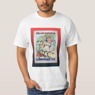 Vintage poster, Folies Bergeres, Paris T-shirts