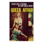 Vintage Poster Queer Affair