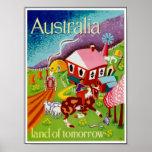 Vintage Posters Travel Historical Art Australia